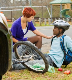 child injuries caused by a bike accident